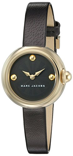 Marc by Marc Jacobs Damen Analog Quarz Uhr mit Leder Armband MJ1432