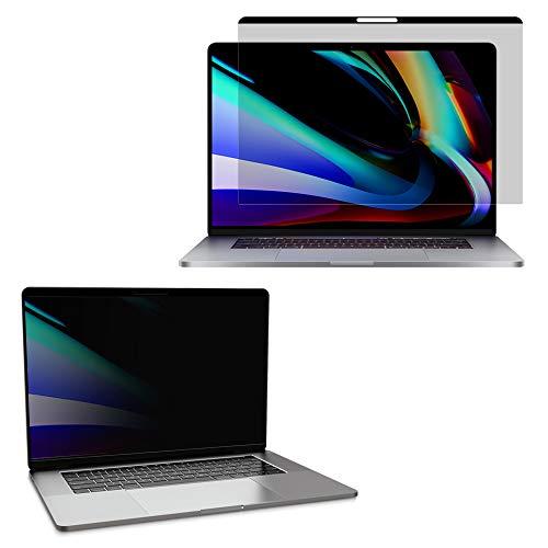 YMYWorld マグネット式 覗き見防止フィルター Macbook pro 13 インチ用 2016-2020年モデル プライバシーフ...