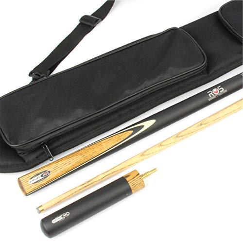 Riley Ronnie O 'Sullivan Rebel Billardqueue Ash Snooker Queue Soft Case & Mini EXT-10mm