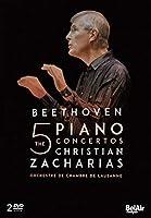 Christian Zacharias: Beethoven - The 5 Piano Concertos [Regions 1,2,3,4,5,6]