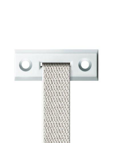 Schellenberg 51202 Standard Guide-Winkel verstellbare Gurt für Rollladen, System Mini und Maxi