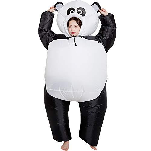 BSLBBZY Panda Aufblasbares Kostüm Cosplay Anzug Partei-Kostüm-Abendkleid-Halloween-Kostüm for erwachsenes Jumpsuit Beliebte aufblasbare Kleidung (Color : Panda)