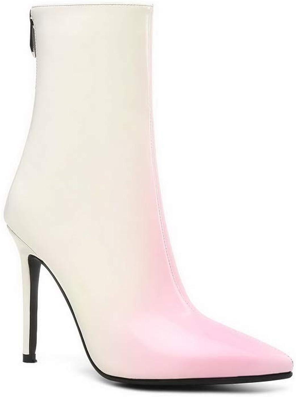 AN Womens Dance-Ballroom High-Heels Urethane Boots DKV03000