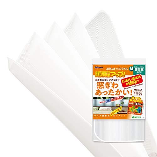 ニトムズ 冷気ストップパネル M 冷え防止 窓際 高さ35cmx幅1.9m 1枚入 E1402