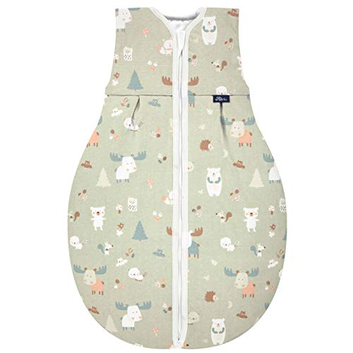 Alvi Kugelschlafsack Thermo Baby Forest 110