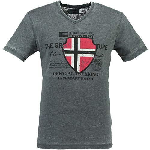T Shirt Mann JOVKA GRAU Oscuro XXL