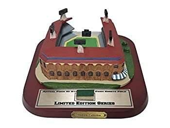 Limited Edition Ebbets Field Stadium Figurine with Game Used Stadium Piece