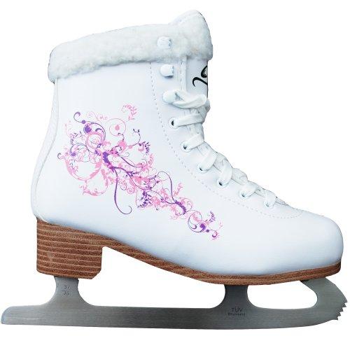 Cox Swain Figur Damen + Kinder Eiskunstlauf Schlittschuh Flower - alle Größen, Gr. 43
