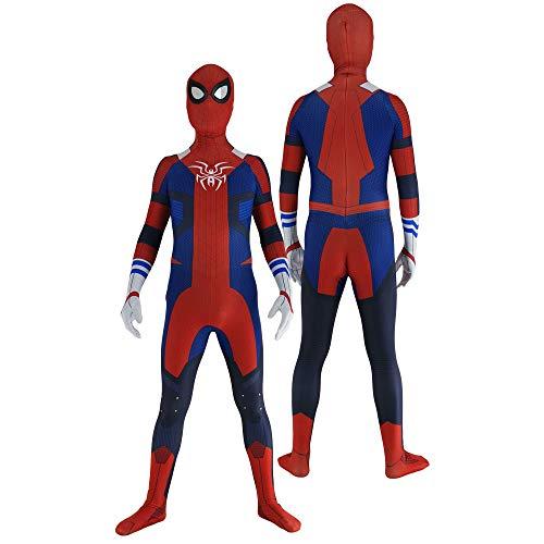 Disfraz de Spiderman Disfraces de Cosplay Unisex Adultos Nios Mono 3D Mono de Carnaval Onesies - Tamao estndar