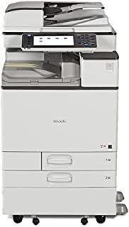 Renewed Ricoh Aficio MP C5503 Color Multifunction Copier - A3, 55 ppm, Copy, Print, Scan, SPDF, 2 Trays with Stand (Renewed)