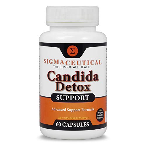Candida Detox Support - Oral Candida Treatment for Adults - Non-GMO Oral Detox Medicine and White Tongue Treatment – Mouth Overgrowth Treatment - 60 Capsules