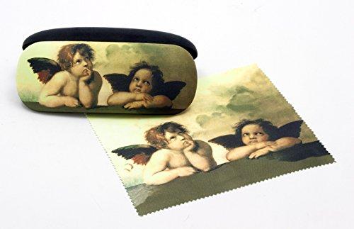 Artis Vivendi 9790 brillenkoker en brillenpoetsdoek Raffael Engel in Dekomiro geschenkverpakking