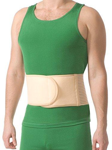 Nabelbruch-Bandage Gurt Stützung Bauch Bruch Hernie Stoma 5051 beige 3XL/4XL