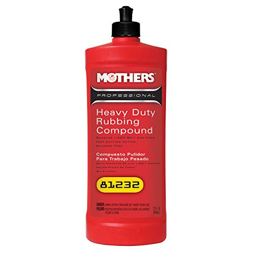 Mothers 81232 Professional Heavy Duty Rubbing Compound - 32 oz.