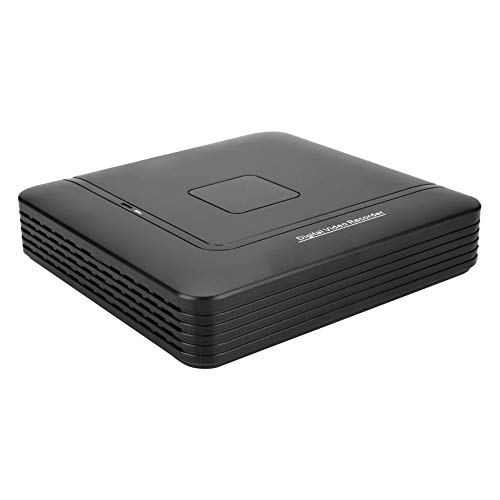 Asixxsix Grabadora Full HD, Cámara 1080P de Acceso Remoto, Grabación para la Seguridad de(100-240V British Standard)