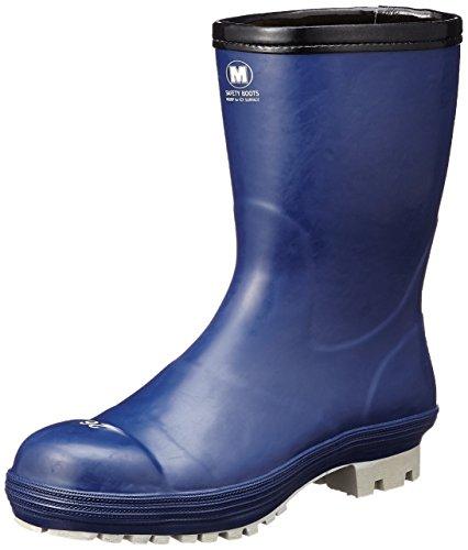 [ミドリ安全] 安全長靴 先芯入り 氷上耐滑 冷凍庫作業向け FBH01 ネイビー 27 cm 3E