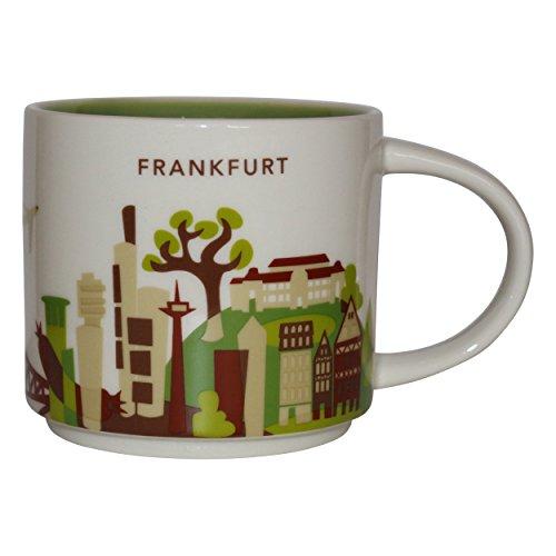 Starbucks Taza de la ciudad de Colección You're Here Frankfurt a. Main Taza de café de la taza de café principal