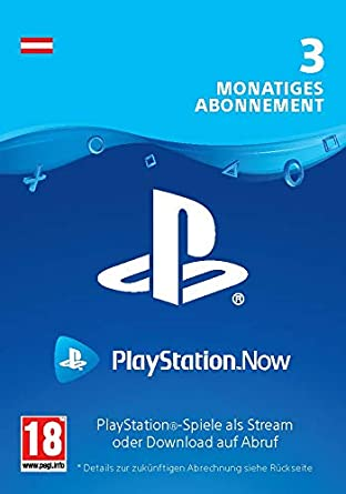 Playstation Now Abonnement 3 Monate Deutsches Konto Ps5 Ps4 Ps3 Download Code Deutsches Konto Amazon De Games