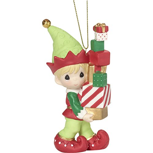 Precious Moments' Bringing You Loads of Christmas Cheer Elf Ornament