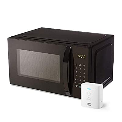 AmazonBasics Microwave with Echo Flex from