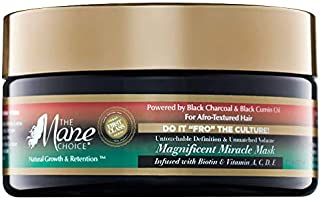 THE MANE CHOICE Do It 'FRO The Culture Untouchable Definition & Unmatched Volume Magnificent Miracle Mask (8 Ounces/ 236 Milliliters)