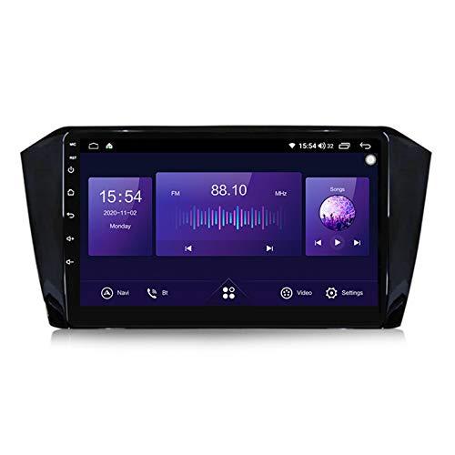 ADMLZQQ 9 Pollici 2 DIN Autoradio per VW Passat B8 2015-2018 Navigatore Satellitare Supporto 5G 4G WiFi/FM AM RDS/Controllo vocale/Controllo del Volante/Telecamera Posteriore,6+128g