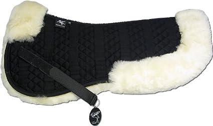 Sakis 2 Combinez-Vous avec 12 Coleur de Peau de Mouton Engel Germany Demi-Chabraque DE en Peau de Mouton Couleur Coton Marron