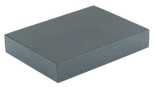 Grizzly G9647 6-Inch by 8-Inch by 2-Inch Granite Surface Plate, No Ledge