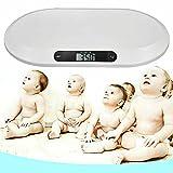 Báscula de bebé antideslizante LED Digital Baby Still Balanza con función de apagado automático Báscula de animales hasta 20 kg para bebés animales