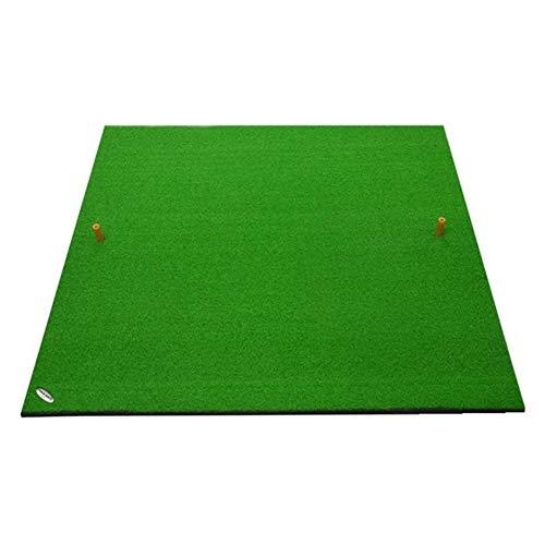 WJJ Alfombra de Entrenador de Golf Exterior Golf Practice Pad El Columpio Bolas de los Asientos, Cubierta Espacio Abierto del Golf Formación Mats, 100 * 100cm del Patio Trasero de Golf Mat