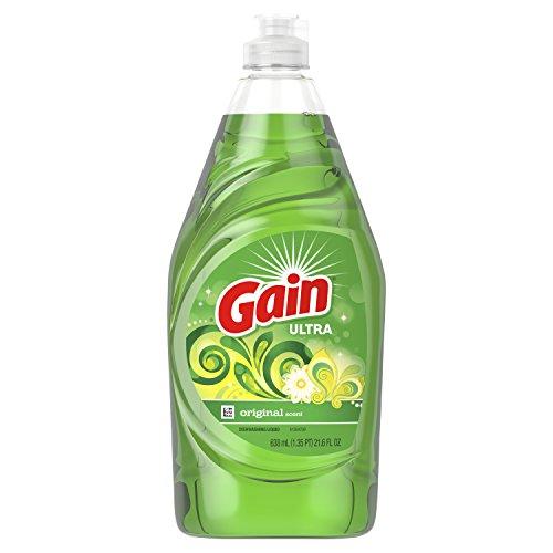 Gain Ultra Liquid Dish Soap 21.6 oz