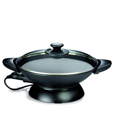 GASTROBACK #42509 Design-Wok, 2.200 watt hoogpresterende thermostaat, zware professionele wokschaal (gegoten), 3-voudige anti-aanbaklaag