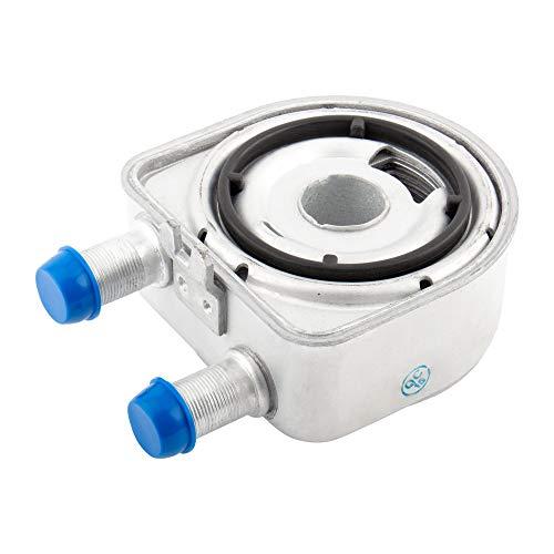 BOXI 26410-2G000 Engine Oil Cooler Compatible with Hyundai 2010-2014 Genesis Coupe / 2010-2012 Santa Fe / 07-17 Sonata / 11-15 Tucson / 08-18 Kia Optima / 11-18 Sorento / 11-16 Sportage / 26410-25402
