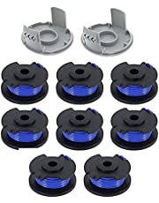 Trim Spool Replacement, 10st trimmer Replacement Spole Linje Weed Eater Spolar linje Kompatibel med Ryobi One AC14RL3A