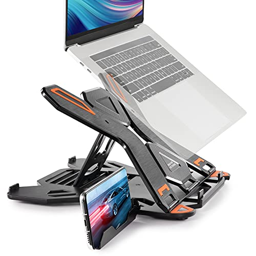 Laptop Stand with Phone Holder