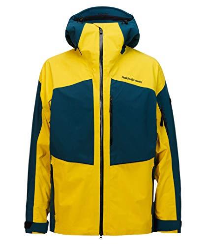Peak Performance Herren Skijacke Gravity Jacket gelb (510) M