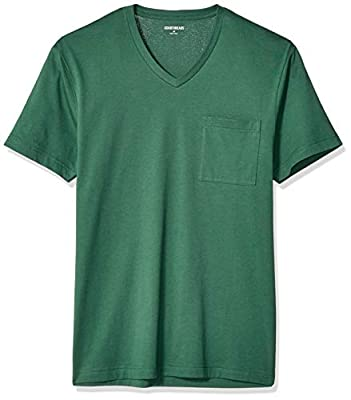 "Amazon Brand - Goodthreads Men's ""The Perfect V-Neck T-Shirt"" Short-Sleeve Cotton, Green X-Large by Goodthreads"