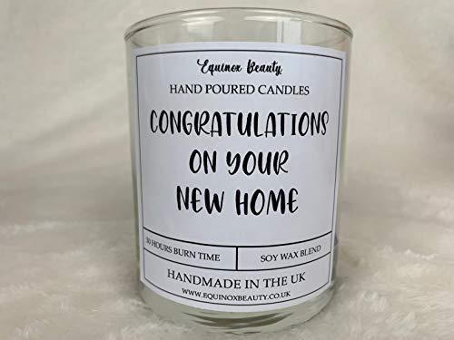 Equinox Beauty Congratulations On Your New Home - Vela perfumada (30 cl)