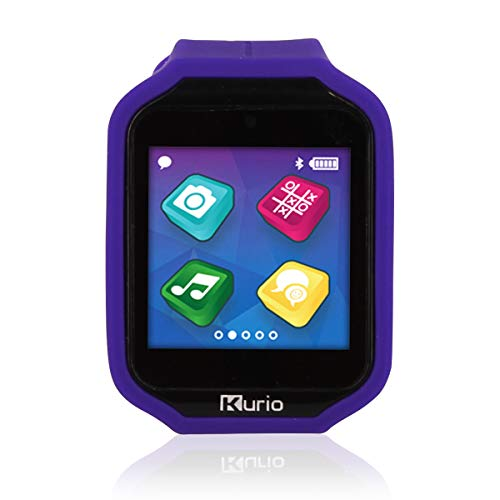 Kurio Watch 2.0+ The Ultimate Smartwatch Built for Kids with 2 Bands, Lavender and Color Change