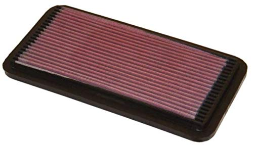 K&N Engine Air Filter: High Performance, Premium, Washable, Panel Replacement Filter: 1982-2007 (Avensis, Gaia, Vista, Caldina, MR2, RAV4 I, Corolla, Carina, Celica, Camry, ES250), 33-2030