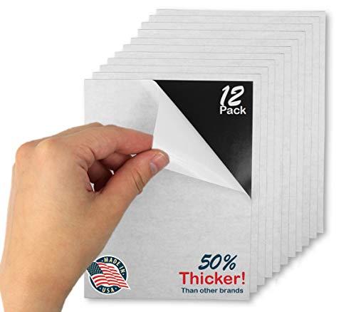Hojas magnéticas adhesivas flexibles – 10 x 15