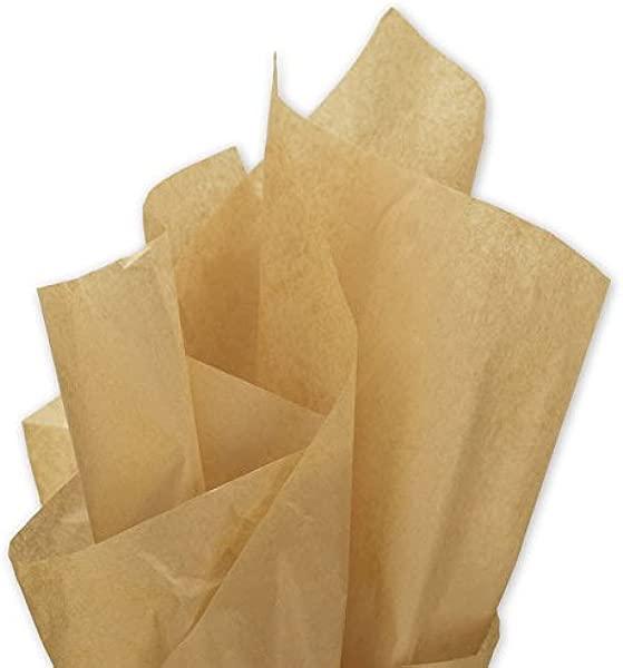 EGP Solid Tissue Paper 20 X 30 Kraft 480 Sheets