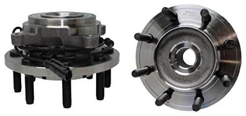 Detroit Axle 515122 Front Left & Right Side 4x4 Wheel Hub & Bearing Assembly for 2009 2010 2011 Ram 2500 Ram 3500 4x4 w/ABS