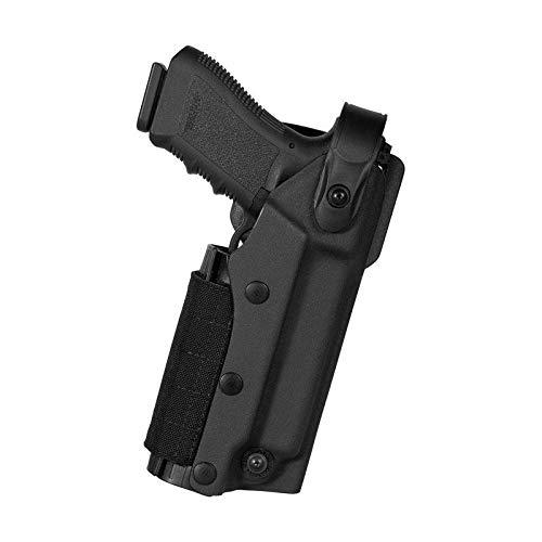 Vega Hoslter - VKZ804 Pistolera profesional de polímero termoformado para pistola Glock 17-19con linterna táctica y/o puntero láser