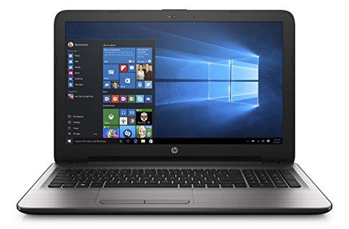 HP 15-ay000nl Notebook, Intel Celeron N3060, RAM 4 GB, Hard Disk 500 GB, Scheda Grafica Intel HD 400, Display 15.6', Argento