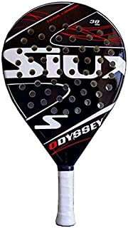 Drop Shot Odissey Padel Tennis Racquet, Black, One Size