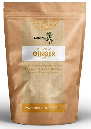 Nature's Root Ginger Powder 125g - Natural Spice | Aromatic & Flavourful | Superfood Supplement | Vegan & Paleo Friendly