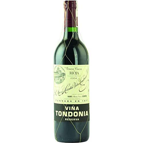 Vina Tondonia Reserva tinto 2004 Rioja Reserva DO Rotwein trocken Lopez de Heredia Vina Tondonia Spanien 750ml-Fl (61,07€/L)