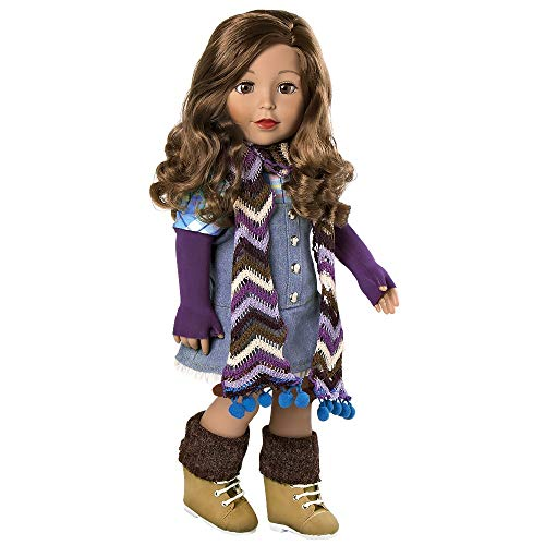 """Adora Amazing Girls Doll """"Ava"""" Soft Body Vinyl Fashion Play Toy with Open/Close Eyes, 18-inch (Ages 6+)"""