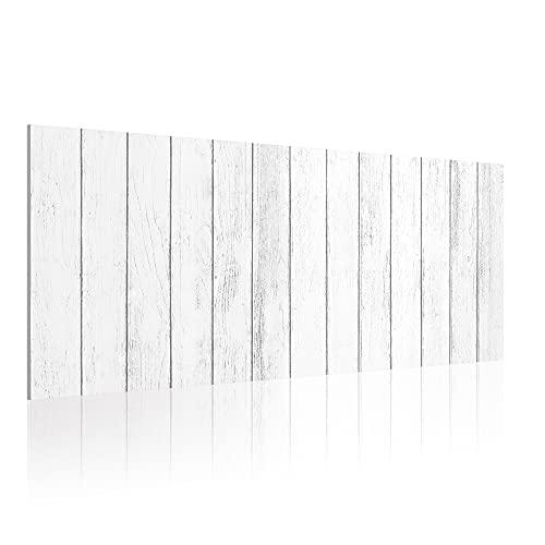 Cabecero para Cama de 90 cm, Imitación Madera, PVC Estampado, 95 x 60 x 0.5 cm, CAB-005